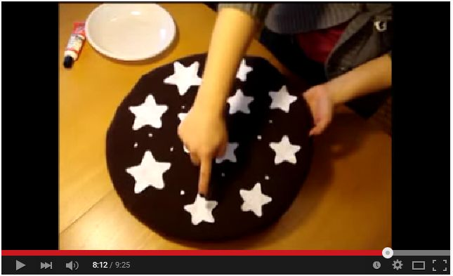 Come cucire un cuscino a forma di Pan di Stelle