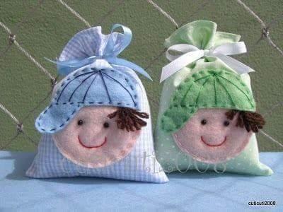 Come realizzare bomboniere in stoffa e pannolenci