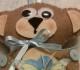 Orsetto in feltro per festeggiare la nascita di un bimbo