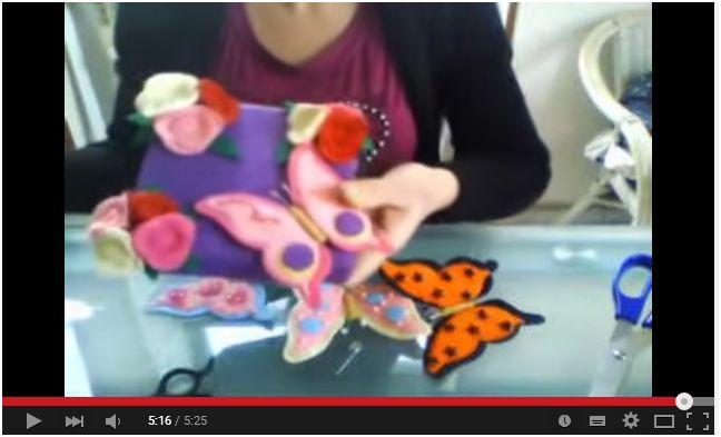 Come realizzare farfalle in pannolenci