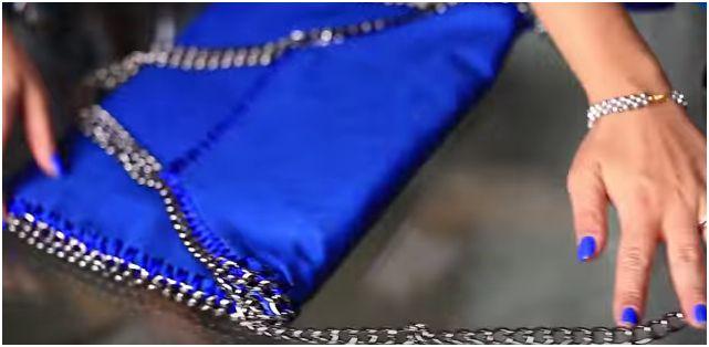 Come cucire a mano una Falabella bag