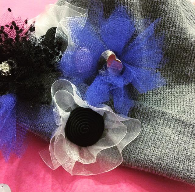 Hat Couture. Come cucire a mano decorazioni sul berretto di lana
