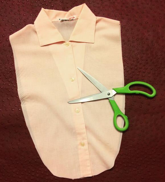 huge discount 354bb b7ffe Come cucire una finta camicia fai da te