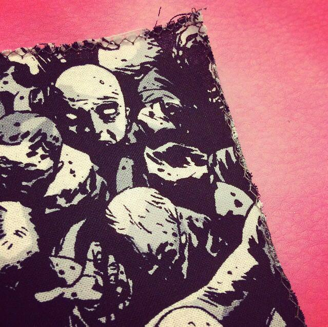 maglietta walking dead fai da te