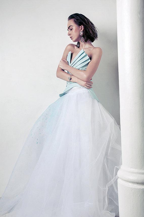 tutti i tipi di tessuto abito da sposa