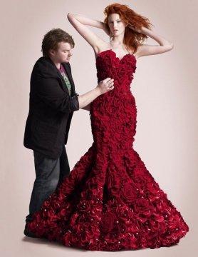 Come cucire un abito floreale per San Valentino