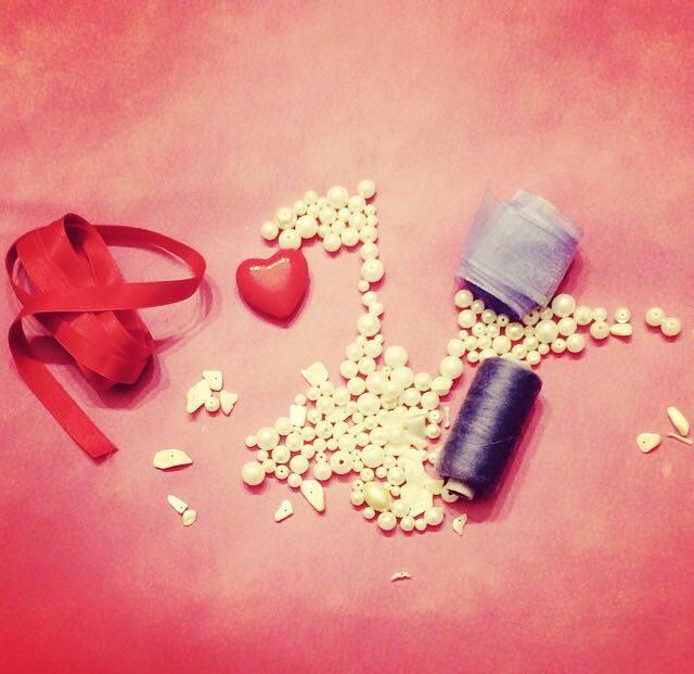 come fare una collana fai da te per san valentino