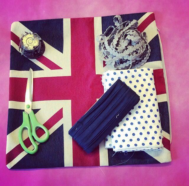 come cucire una borsa in stile inglese