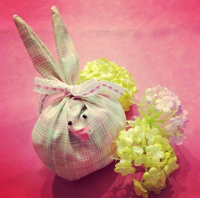 come fare il coniglio di Pasqua segnaposto